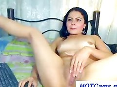I Chat Free Spanish Girl Big Dildo in Pussy