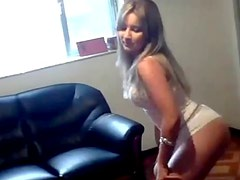 Hot brazilian girl sexy dancing