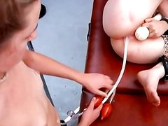 0023 WA Hogtied Double-Balloon Enema and Span