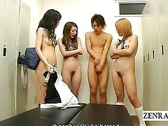 Subtitles Japan nudists locker foreplay