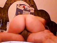 Tremendous fat buttocks Amazon with 7-8