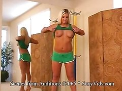 Solo Babes audition to be cast in videos