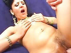 Horny Indian princess prefers fucking