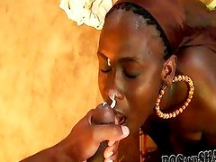 African style blowjob