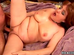 Chubby old lady wants stiff cock in her cunt
