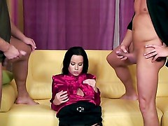 DOUBLE TEAMED PISS WHORE / CINDY DOLLAR