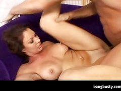 Busty MILF Brutally Pounded