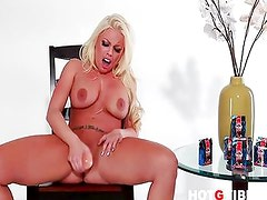 Britney Amber cums hard for you