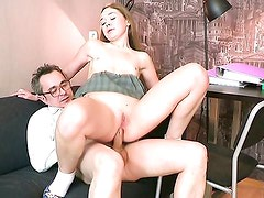Sara And Tricky Old Teacher. Part 4