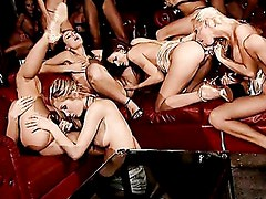 The Most Awesome Lesbian Orgy Ever. Part 3