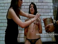 Tina Martinez tied up naked and fucked
