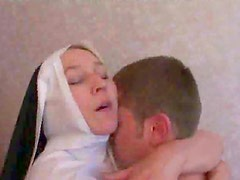 Nun loves cock in cunt