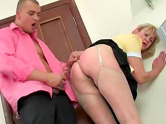 He ass fucks the maid