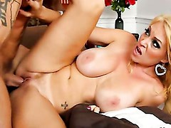 Charlee Chase - hot MILF with big tits and dripping wet pussy! Part 3