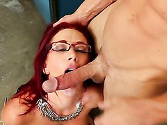 Professor of Sociology Jayden Jaymes fucking with her student! Part 3