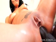 Tori Lux loves big black cock!