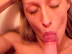 UK Natalia first Blowjob