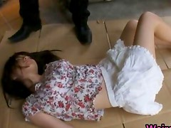 Busty Asian Slut Rui Saotome Caged