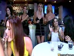 Lucky dick on such a hottie party