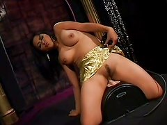 Hot Mika Tan and her dildo