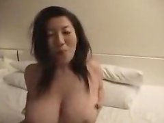 Giant boobed asian sweetheart fondled