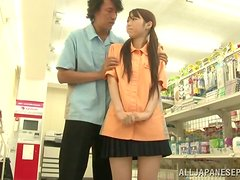 Calcetines - Yui Tsubaki gets fucked by a stranger in a supermarket