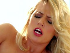 Alexa Johnson is one mouth-watering blonde with nice boobs and