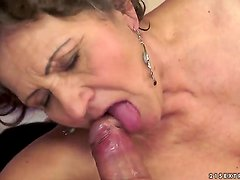 Kata is the most insatiable granny you can imagine. You can check out this hairy granny in