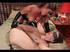 Hot Strapon Fucking For A Hot Babe From Her Mistress