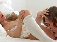 Anjelica and Kitana A are two sweet young girls that