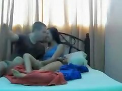 Asian gf and white boyfriend sextape