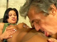 Tereza is rammed hard by horny pervert