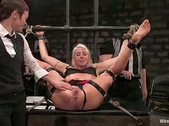 Hot Lorelei Lee gets bounded and toyed by many girls