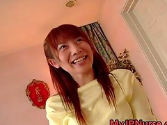 Aki Yatoh Lovely asian nurse rides