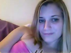 UNSEEN - sexy 22yr old blonde on omegle