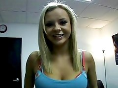 Blonde Bombshell Bree Olson Give...
