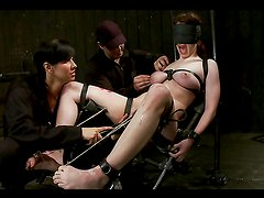 Kinky BDSM Session with Tons of Clamps