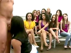 Real slutty college babes get fucked