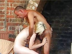 Skinny Pale Tiny Tit Hairy Blonde Pounded