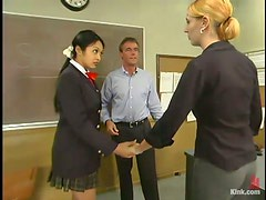 Naive Student Has The Dominatrix Personality! See How She Submits Her Teachers!