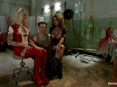 Felony and Lorelei Lee punish some lucky dude in a hospital ward