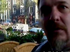 Horny guy from Brazil comes to Amsterdam