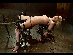 Pure Humiliation And Pain For A Hot Blonde In A Bondage Video