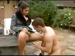 British Indian Babe Outdoor