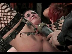 A Breath Taking Bondage Clip Among Horny Ladies