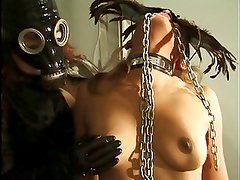 Sexy gimp getting teased