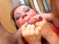 Sexy milf enjoys young meat