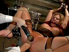 Sassy Charisma Capelli Gets Fist...