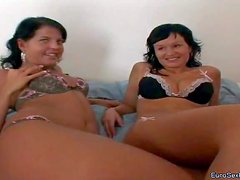 Kiki and Vanessa Bliss are two sweet naive chicks that