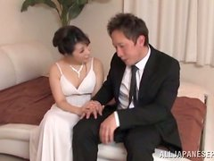 Doggystyle Fucking for Fancy and Sexy Japanese Cock Sucker